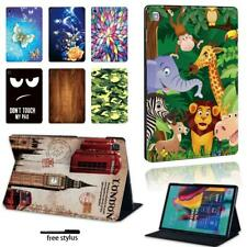 "For Samsung Galaxy Tab A A6 7""10""/Tab E -Multi Patterns Leather Stand Cover Case"