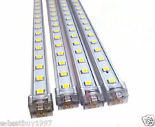 4X 7W LED Rigid Strip Light Bar SMD 5050 Pure White 30LEDs + Connector Wire 12V