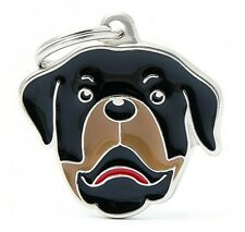 Wags /& Bigotes Mascota identidad Tag-Rottweiler 00204090053