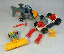 THE REAL GHOSTBUSTERS ECTO 500 RACE CAR AIR SICKNESS VEHICLE ECTO-2 LOT