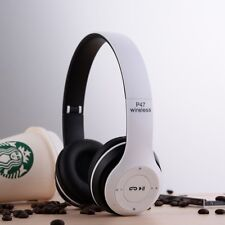Wireless Bluetooth Stereo Headset Earphone Foldable Headphone Mic Smartphone US
