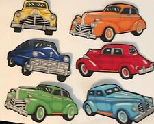 Old Time Cars - Iron On Fabric Appliques,boys