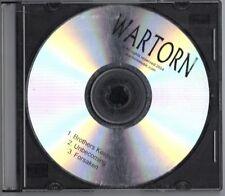 WARTORN promo cd 2004 heavy metal