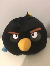 "Angry Birds Plush Bean Bag/Pillow Toy 15"" x 14"""