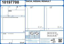 Head Gasket Set RENAULT MEGANE III GRANDTOUR DCI 1.5 110 K9K-636 (2/2009-)