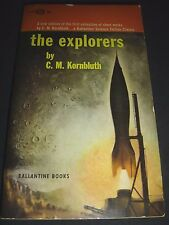 The Explorers By C.M. Kornbluth 2nd Edition March 1963 Ballantine Paperback