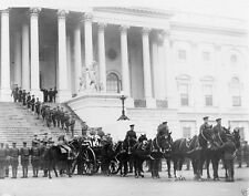 US Unknown Soldier Caisson at Capitol 1921 - 8x10 World War I Photo WWI