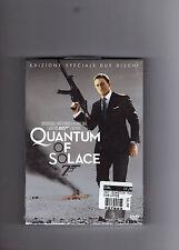 "007 ""QUANTUM OF SOLACE"" DVD EDIZ SPECIALE 2 DISCHI, COME NUOVO!"