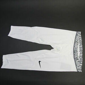 Nike Dri-Fit Compression Pants Men's White New with Tags