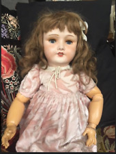 "ANTIQUE Jumeau CHARACTER tete JUMEAU bebe DOLL 301 all ORIGINAL 27"" Rare Marking"