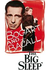 The Big Sleep (1946) Poster Film Noir Wall Decor Vintage Movie - No Frame