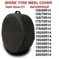 """R14""""  SPARE TYRE COVER WHEEL PROTECTIVE TYRE BAG SPACE SAVER FOR ANY CAR D40"""