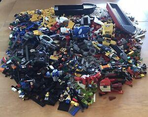 7.4kg Lego spares lot bundle City Creator Hobbit Technic boat police minifigures