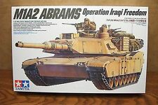 TAMIYA M1A2 ABRAMS MAIN BATTLE TANK Operation Iraqi Freedom 1/35 SCALE MODEL KIT