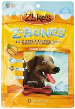 Zuke'S Z-Bones Dog Dental Chews, Clean Carrot Crisp, Mini, 18 Chews