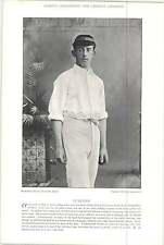 1895 Cricket LACEY, F E, Hampshire : CUNLIFFE, F H E, Oxford