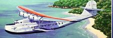 M-130 China Clipper Martin USA Airplane M130 Mahogany Kiln Dry Wood Model Large