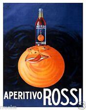 Aperitivo Rossi Vintage Liqueur Liquor Alcohol Fine Art Print / Poster
