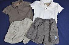 The Childrens Place Summer Short Sleeve Shirt & Cargo Shorts SZ. 6 9 Months