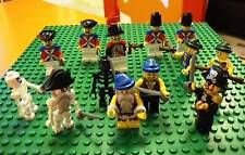 Lego Pirates Army (Soldier Minifigs Admiral Captain)
