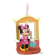 2012 NEW Disney Store Minnie Mouse Bakery Christmas Holiday Sketchbook Ornament