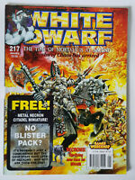 #217 WHITE DWARF MAGAZINE Games Workshop Citadel Miniatures EXCELLENT CONDITION