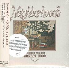ERNEST HOOD-NEIGHBORHOODS-IMPORT CD WITH JAPAN OBI E78