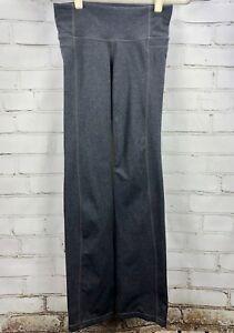 Straight Up Pant Fitness Gray 919179 Women's XSP petite Straight Leg Yoga Pants