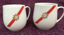 2 TWA Airlines Tea Cups RA Royal Ambassador First Class By ROSENTHAL