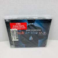 Paul McCartney Back in the U.S. CD Album 2 Discs Set New Sealed