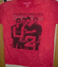 U2 Red Pre Worn T-Shirt Size Xl Rolling Stone Mag Cover The Making Achtung Baby