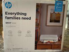 HP ENVY 6055 Thermal Inkjet All-In-One Printer - White