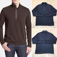 e96228b19b7d4f Boss | 'Persano' Quarter Zip Mockneck Pullover | Size Large