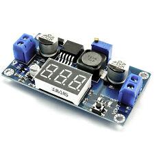 4V-40V To 1V-37V LM2596 Adjustable Step Down Power Converter LED Voltmeter 1 DRP