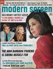 Modern Screen magazine- November 1967,Barbara Stanwyck,Lynda Bird,Parkins