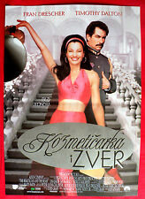 BEAUTICIAN AND THE BEAST 1997 FRAN DRESCHER TIMOTHY DALTON EXYU MOVIE POSTER