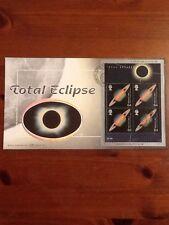 DELONG BENHAM SETA FDC Total Eclipse 1999 Falmouth TIMBRO