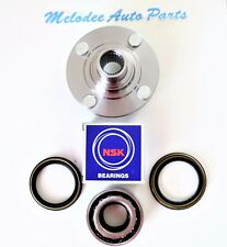 1 Front Wheel hub W/ NSK Japanese Wheel Bearing & Seal Set For  NISSAN  200SX