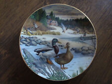The Mallard 1986 Limited Edition Bart Jerner Collector Plate No. 3547F