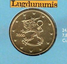 Finlande 2000 - 50 Centimes D'Euro  FDC provenant coffret 75000 exemplaires