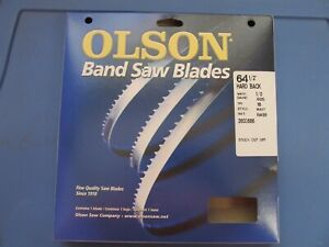 """Olson Metal Band Saw Blade 64-1/2"""" Long x 1/2"""" Wide 18 TPI  #71864  NEW"""
