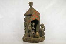 """Baule Hut Shrine Figure 27"""" - Ivory Coast - African Art"""