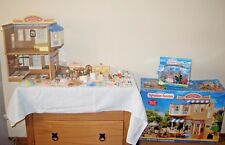 sylvanian families boxed brambles department store and cafe,boxed figures