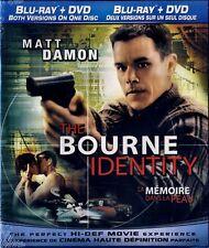 NEW BLU RAY - DVD COMBO  - THE BOURNE IDENTITY - Matt Damon, Franka Potente