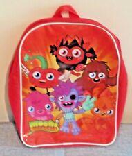 Moshi Monster Backpack Red School Bag Official Rucksack Kids Boys Girls