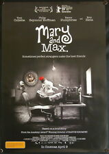 Mary and Max (2009) Australian One Sheet HOFFMAN COLLETTE BANA