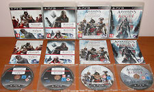 Assassin's Creed Collection (Heritage, La Saga Americana, Rogue) PS3, Pal-España
