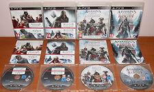 Assassin's Creed Collection (Heritage, La Saga Americana, Rogue) PS3, Pal-España
