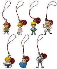 Mother 2 (Earthbound) Figure Strap 2 - Set of 7 (2016) Brand New Japan Import