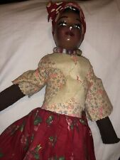 black antique doll